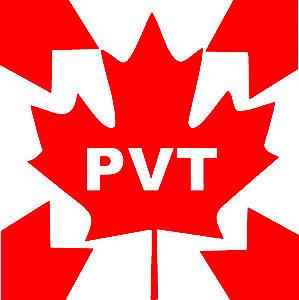 PVT drapeau Canada